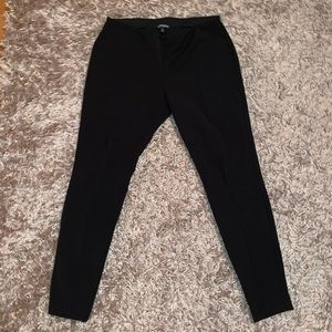 Express stretchy ankle dress pants leggings size M